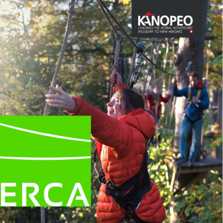 Jan 22 - 23 2018 I Kanopeo at European Ropes Course Association (ERCA), Booth 16
