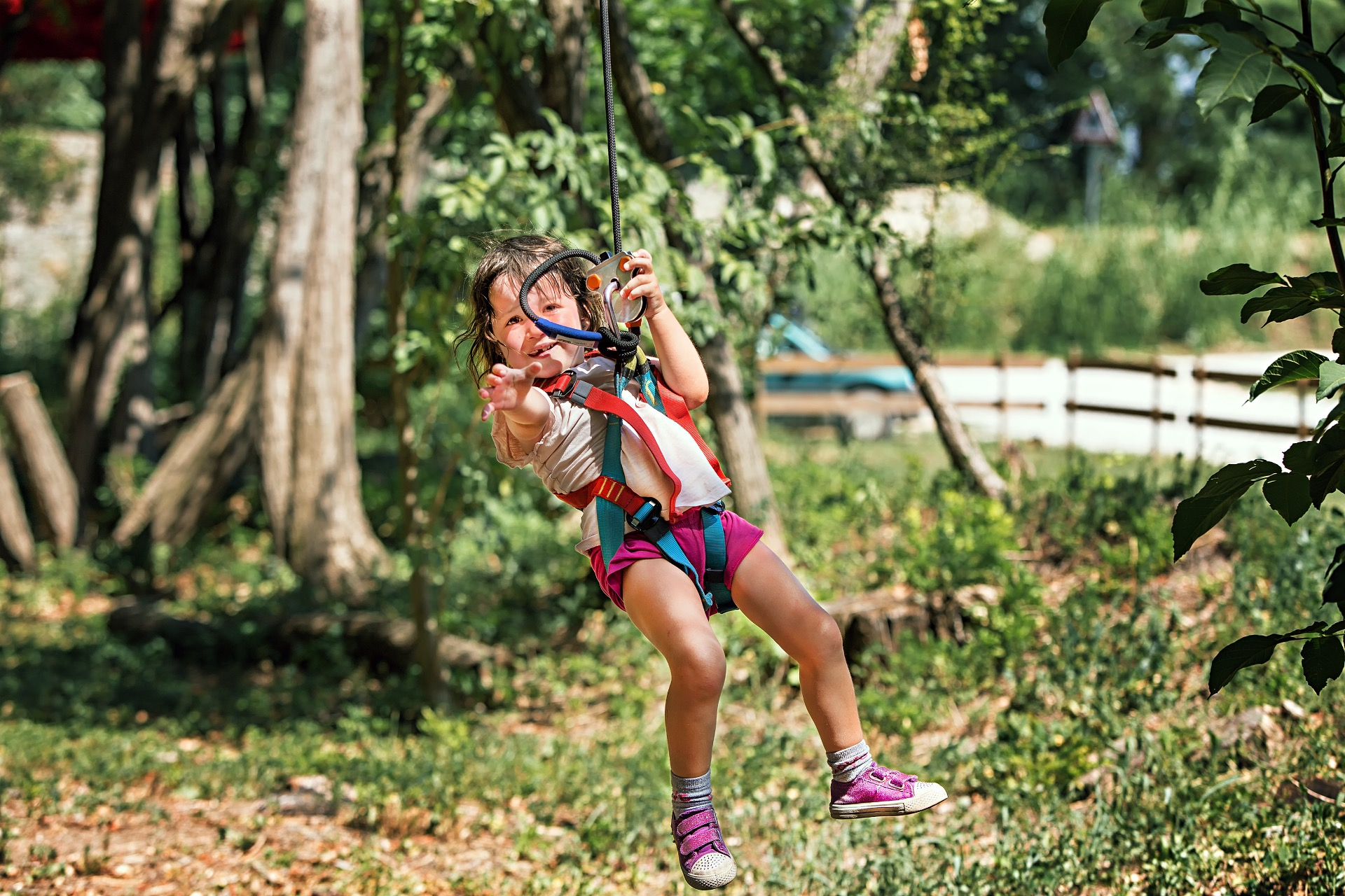 Saferoller Continuous Belay System For Rope Courses And Ziplines